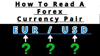 Forex: WHAT IS A Forex CURRENCY PAIR? (Beginners Must Learn This First)