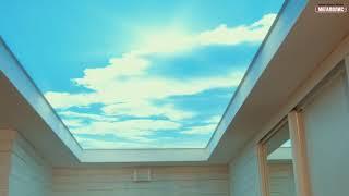 Натяжной потолок с подсветкой и фотопечатью в Оренбурге | натяжные потолки Оренбург Мегаполис