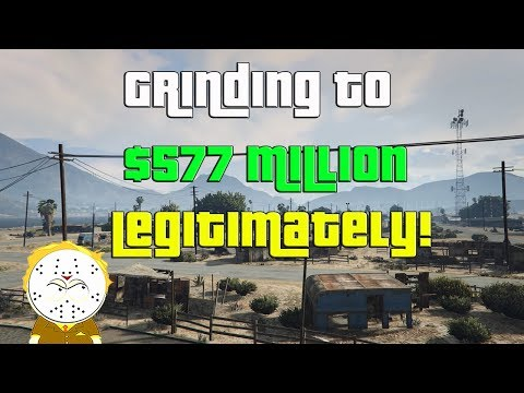 GTA Online Grinding To $577 Million Legitimately And Helping Subs thumbnail