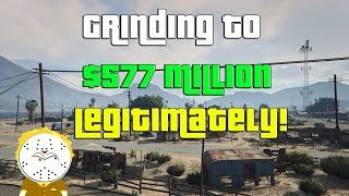 GTA Online Grinding To $577 Million Legitimately And Helping Subs