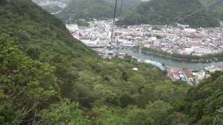 寝姿山自然公園まで約3分で到着します。 http://www.ropeway.co.jp/ 下田市が舞台となった「夏色キセキ」というアニメに登場したそうです。