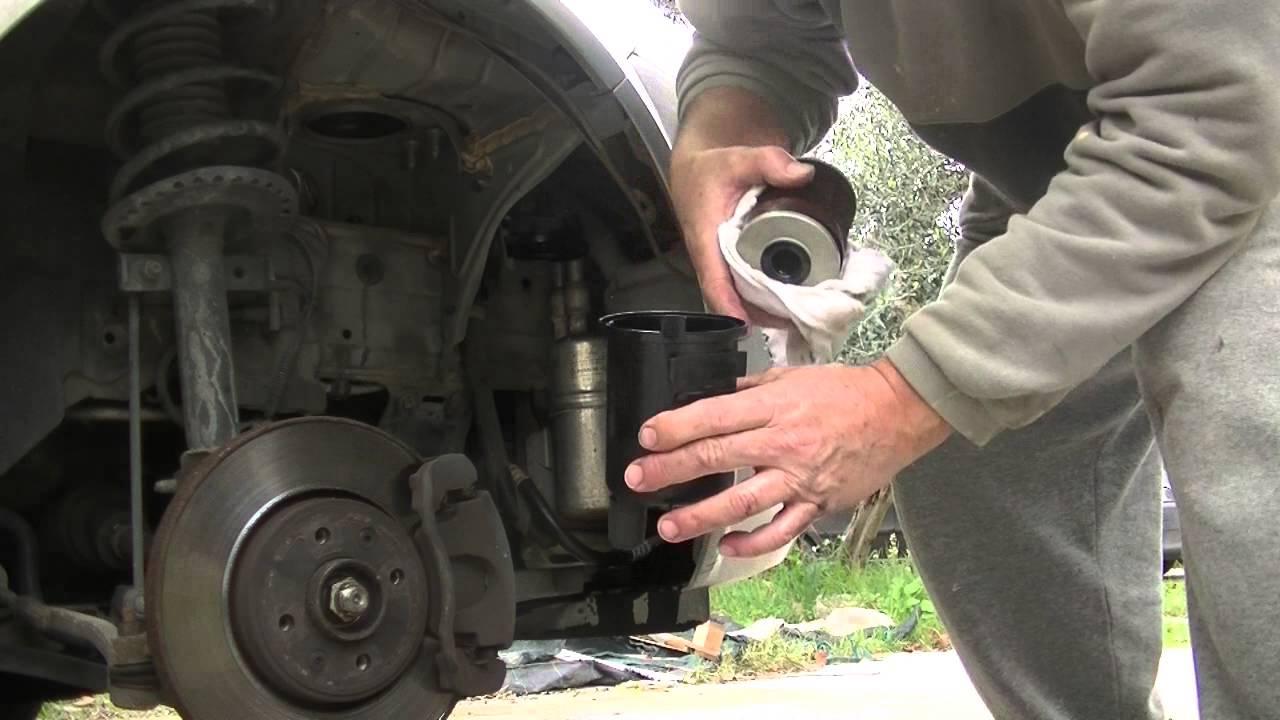 Renault 1 9 Tdi Filtro Gasolio Youtube