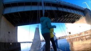 Tall Boat, Short Bridge - Watch Out! Яхтинг - первый день сезона