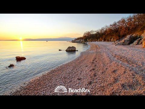 beach Kostrena, Rijeka, Croatia