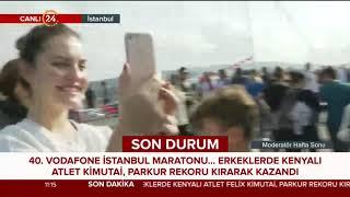 24 TV İstanbul Maratonu'nda  Yürüyüş Beşiktaş'ta son bulacak