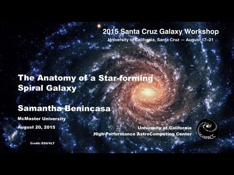 The Anatomy Of A Star Forming Spiral Galaxy Samantha Benincasa