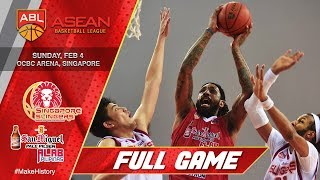 Singapore Slingers vs San Miguel Alab Pilipinas | FULL GAME | 2017-2018 ASEAN Basketball League