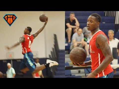 Terry Rozier Elev8 Pro Day Workout   Louisville Guard With SERIOUS Potential!!
