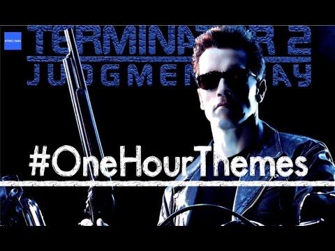 One hour of the 'Terminator 2' theme