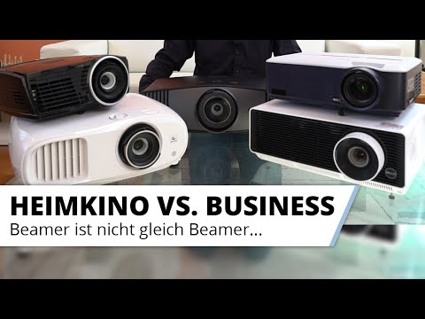 Heimkino Beamer vs. Business Projektor Vergleich Wie groß sind die Unterschiede wirklich?