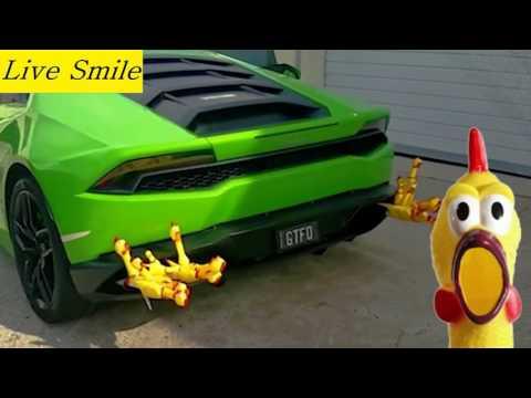 Лучшие авто приколы 2017 Дама за рулем Улётное видео
