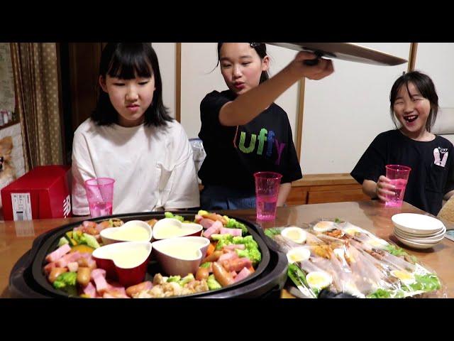 英奈&玲美&リボンの同時誕生会2020