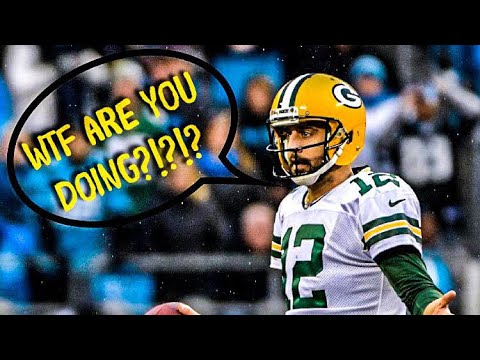 Aaron Rodgers Getting Screwed Out of Playoff Wins Compilation