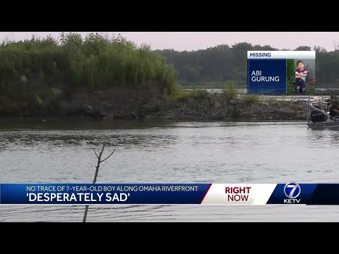 No trace of 7-year old boy along Omaha riverfront