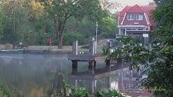 Wildes Emden Augustmorgen gegen 6h nahe Jugendherberge foggy summer morning near Emder Youth Hostel