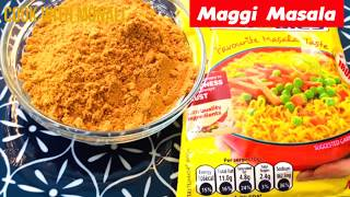 Homemade maggi masala powder recipe|How to make maggi masala at home|Maggi Masala Recipe