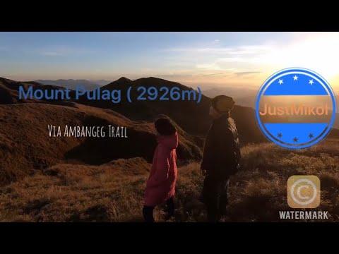 Mt. Pulag Via Ambangeg Trail | Bokod , Benguet | Music :  Miss You By Niwel