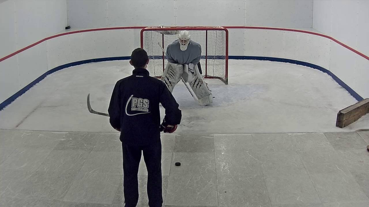 Ice Hockey Goalie Training 2016 Youtube