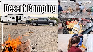 DESERT CAMPING VLOG 2020 :: OUR FIRST TRIP IN OUR NEW RV :: DAY IN THE LIFE OF A FAMILY OF 5