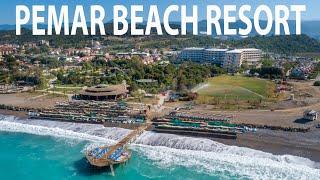 Pemar Beach Resort Hotel Manavgat Antalya Youtube