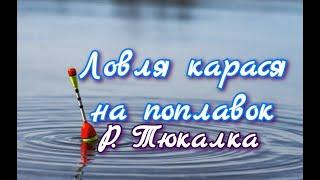 Рыбалка на реке Тюкалка. Рыбалка в Омской области