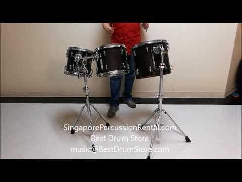 Pearl Symphonic Percussion Concert Tom Tom 10 12 14 inch