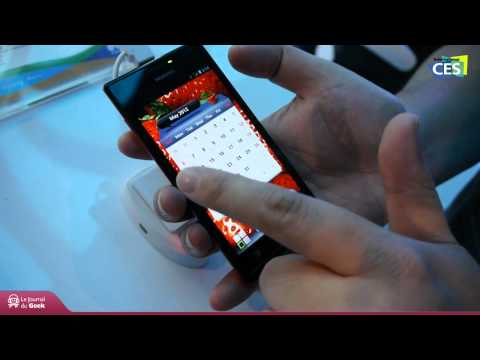CES 2012 : Huawei Ascend P1 S