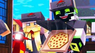 1 TAG bei PIZZA HUT ARBEITEN! - Minecraft [Deutsch/HD]