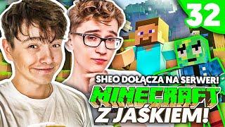 SHEO DOŁĄCZYŁ NA SERWER!? - Minecraft z Jaśkiem #32 | JDABROWSKY