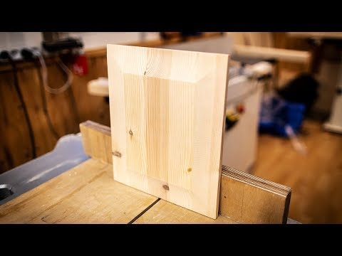 Making Raised Panel Doors Easily Using Only A Standard Crosscut Sled.