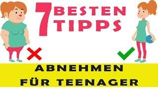 Die 7 BESTEN Tipps zum abnehmen für Teenager: schnell abnehmen für Teenager & Kinder!