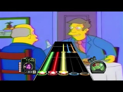 Steamed Hams but it's a Custom Guitar Hero...