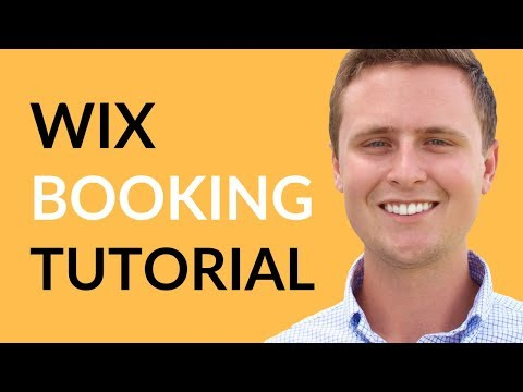 Wix Booking - How To Setup Wix Booking