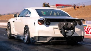 Sketchy 7 Second Passes From This 2,300hp Gtr!