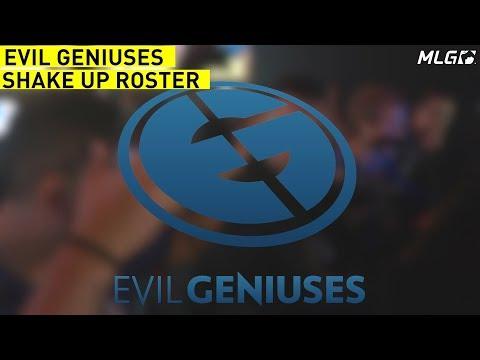 Evil Geniuses Roster Shakeup!