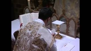 Consecration in the Roman Rite - Catholic Church (Subtitled)