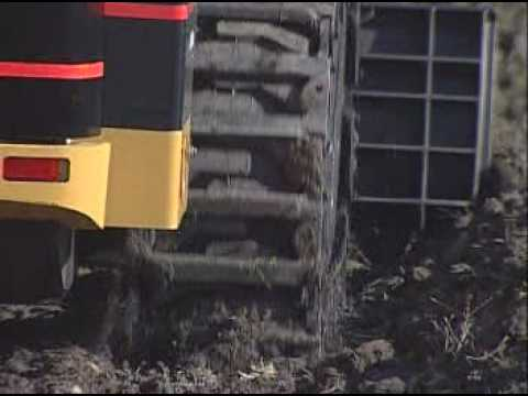 Grouser Products Over The Tire Tracks Youtube