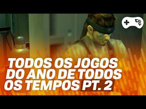 """TODOS OS """"JOGOS DO ANO"""" DE TODOS OS TEMPOS! - Pt 2 - Sexta Geração Dreamcast/PS2/Xbox/GameCube"""