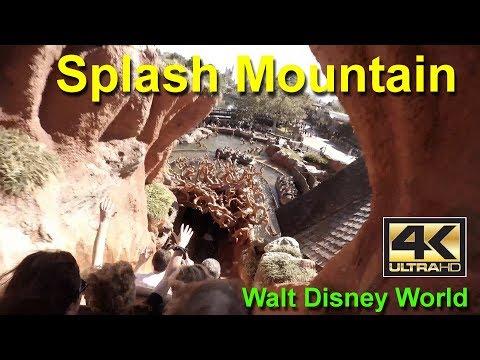 Splash Mountain On Ride 4K Ultra HD POV GoPro Walt Disney World Magic Kingdom