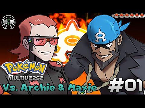 Pokemon Battle Multiverse 1: Team Aqua/Magma Leader Battle