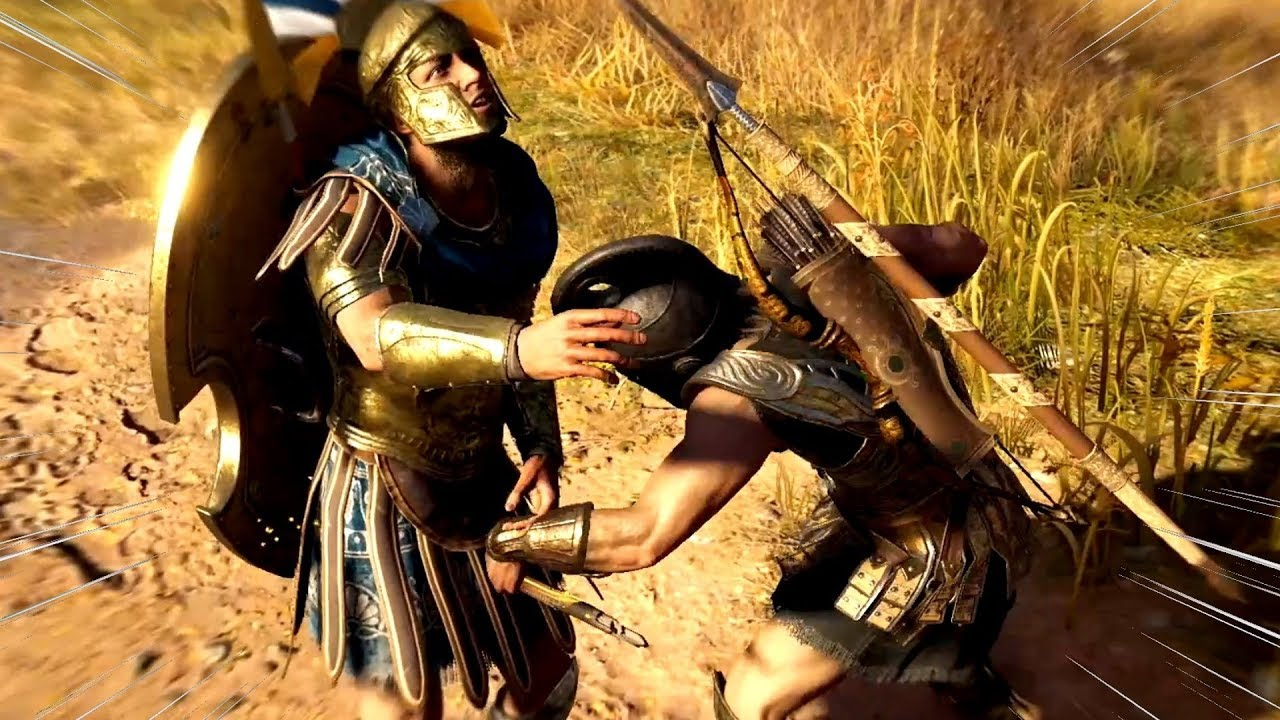 The Spicy Hot Gates Assassin S Creed Odyssey Funny Moments