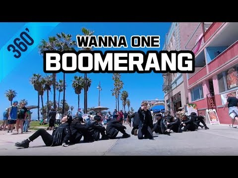 [KPOP IN PUBLIC CHALLENGE] 👉360 Video👈 Wanna One (워너원) - Boomerang (부메랑) Cover GoPro Fusion Footage