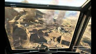 Medal of Honor 2010 PC: Gunfighters Apache Helicopter Mission
