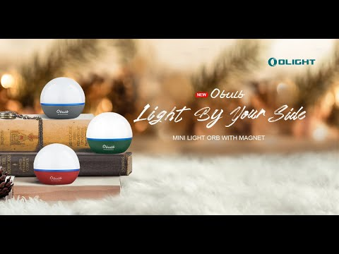 Lampu Camping Olight Obulb 55 Lumens + Red Light Rechargeable LED