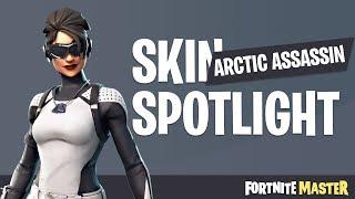 Arctic Assassin Skin Spotlight (Fortnite Battle Royale)