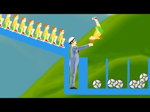 WORLDS WEIRDEST BALL THROW?! (Happy Wheels)