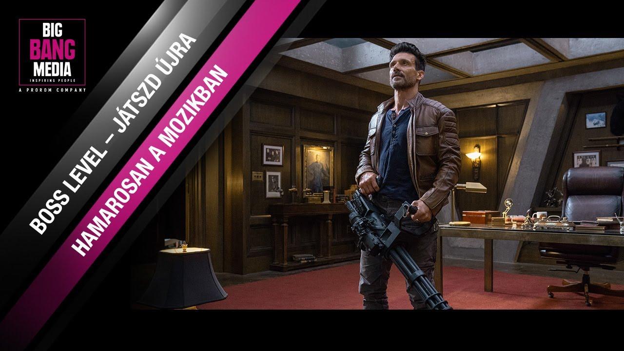 Download Boss Level: Játszd újra (18) - Hivatalos magyar nyelvű előzetes