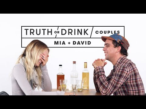 Couples Play Truth or Drink (Mia & David) | Truth or Drink | Cut