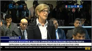 Audiencia de pedido de 36 meses de prisión preventiva contra Susana Villarán