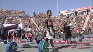 2012 CrossFit Games - Clean Ladder: Men